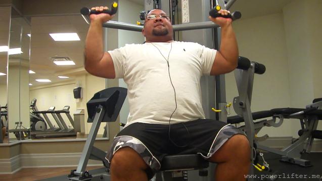 Bodybuilding Week Shoulder Press