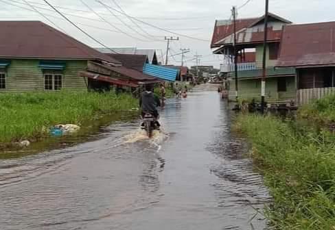Legislator Minta Waspada Potensi Banjir di Palangka Raya