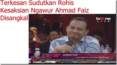 Ahmad Faiz kesaksian Dita