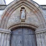 Église Notre-Dame de Saint-Clair-sur-Epte : portail