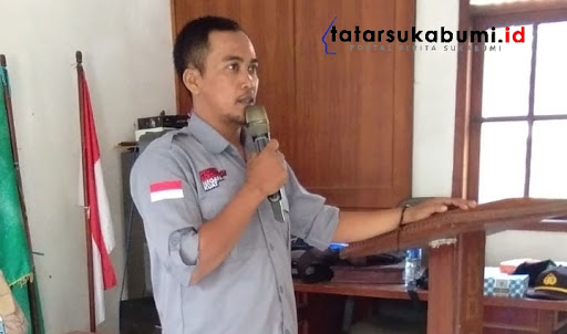 Tendi Satriadzi Divisi Sosialisasi dan Hukum PPK Kecamatan Simpenan