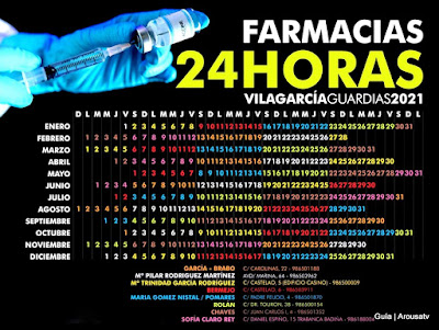 FARMACIA de Guardia 24h en Vilagarcía de Arousa