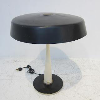 Mid-Century Modern Metal Table Lamp #2