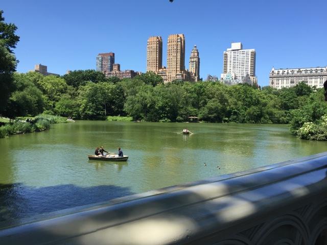 Central Park Row Boats