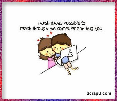 A silent hug means a thousand words Images