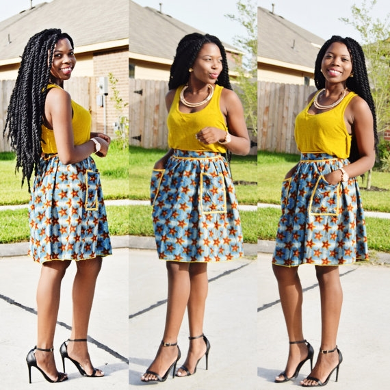 AFRICAN PRINT DRESSES AND STYLES WILL SLANT IN 2019 6
