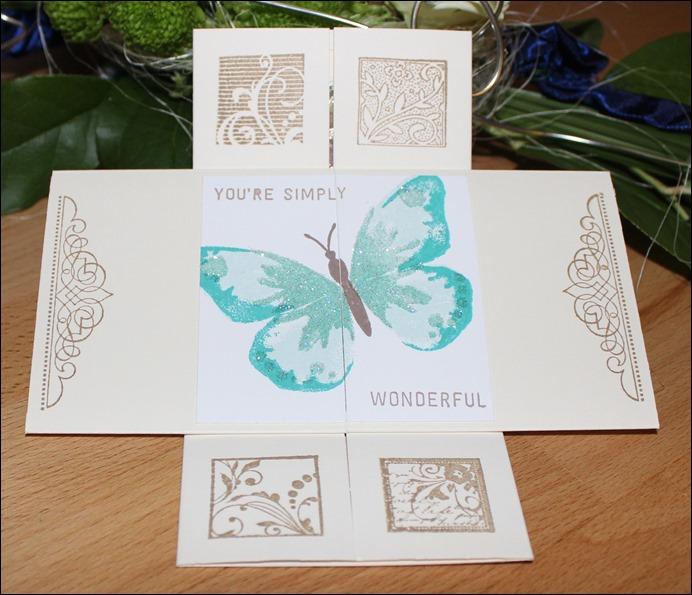 Endloskarte Endless Card Infinity Card Never Ending Card Freundschaft Friends Thank 03