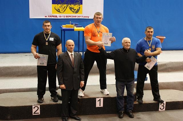 Left hand podium: Andrey Tokarev (2) - Solyanik Sergey (1) - Zarkua Lawrence (3)
