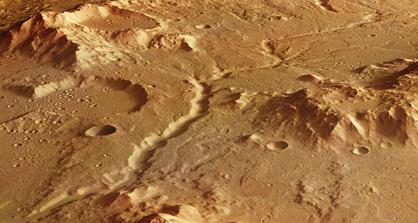 Libya Montes em Marte