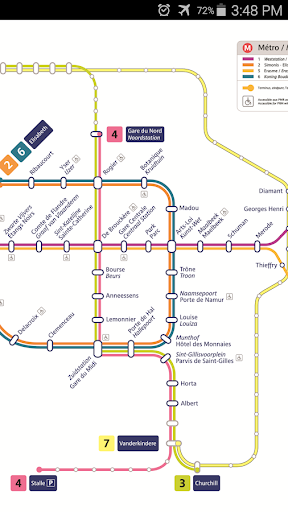 Brussels Metro Tram Map By Metromap Google Play United States