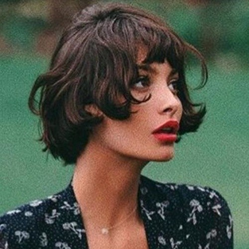 2019 HAIRCUTS WITH BANGS FOR ELEGANT LOOK 1