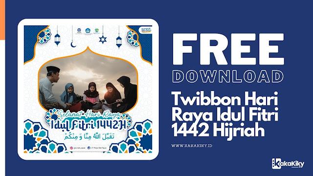 download twibbon hari raya idul fitri