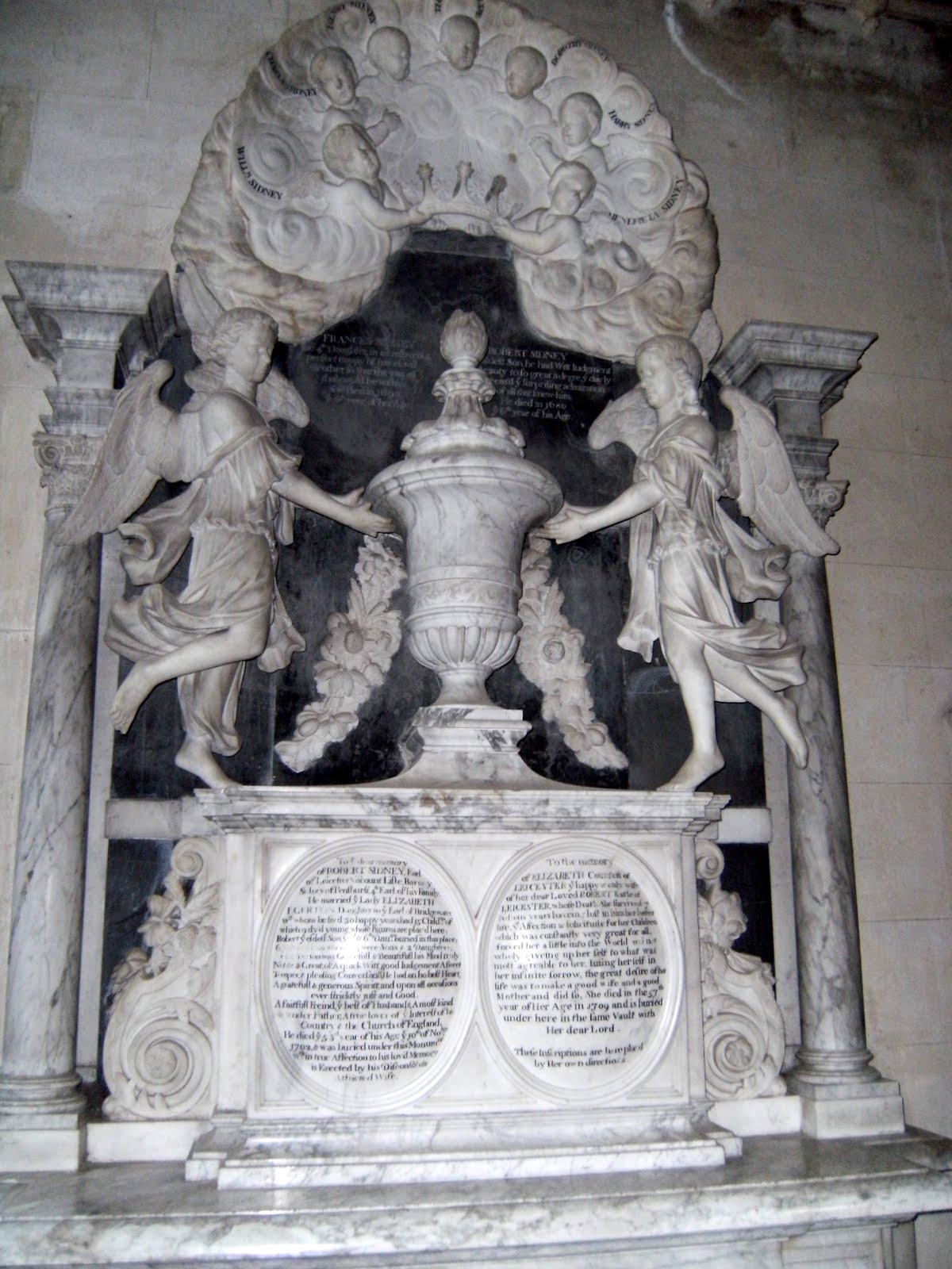 1005300138 Sidney Chapel memorial, St John the Baptist Church, Penshurst
