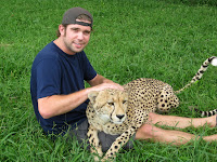 Ted and Cheetah - St Lucia - Elephant Coast, South Africa