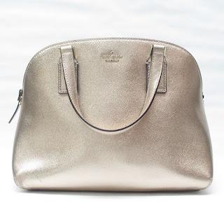 Kate Spade Metallic Leather Handbag