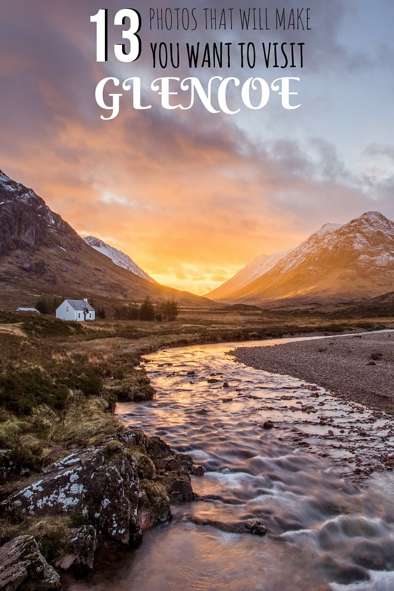 A photo essay of the magnificent landscapes of Glencoe