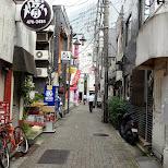 empty street in Shibuya in Shibuya, Tokyo, Japan