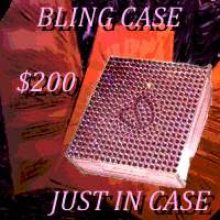 bling compact condom case