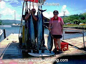 Photo: Wahoo and Yellowfin Tuna
