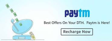 Paytm - Get Rs. 30 Cashback On First DTH Recharge Of Rs.150 Or More
