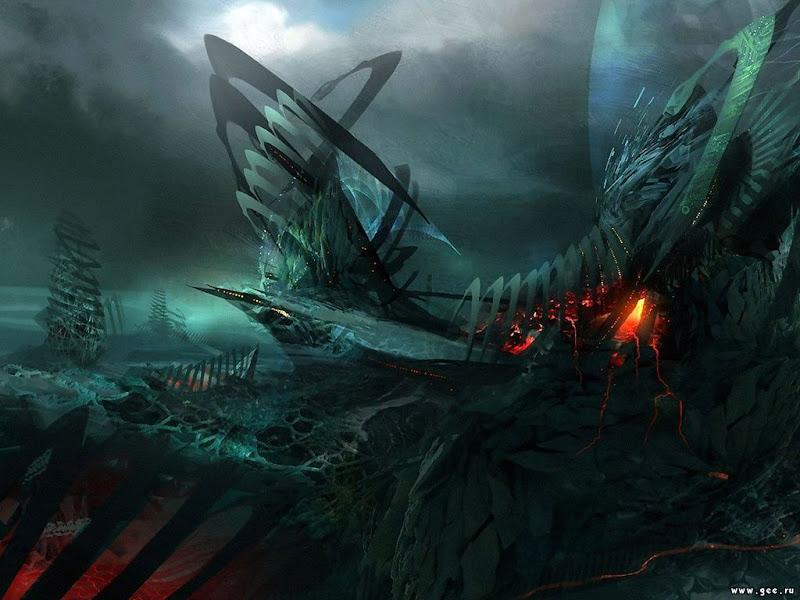 Nightmare Of Horror Landscape 3, Magical Landscapes 3