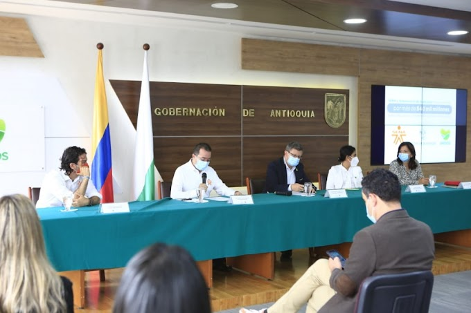 SENA y Gobernación de Antioquia firman acuerdo por más de $40 mil millones para educación, emprendimiento e innovación