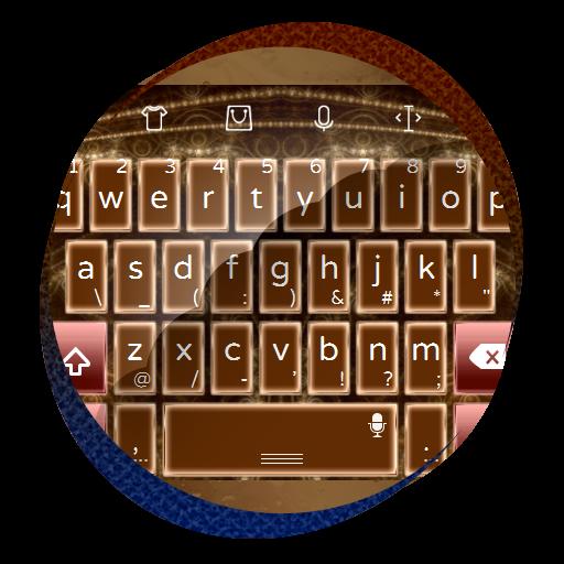 グローイング金 TouchPal 皮膚Hifu 個人化 App LOGO-APP試玩
