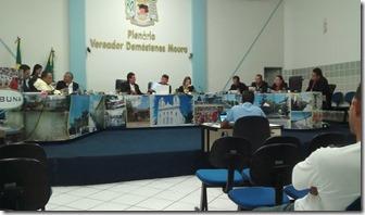 21 Sessão da Câmara de Vereadores de Japaratuba