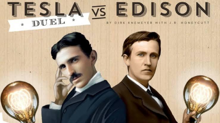 حرب التيارات (The War Of Currents) Thomas Edison, Nikola Tesla & George Westinghouse