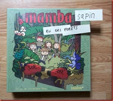 Mamba Papiers ludiques