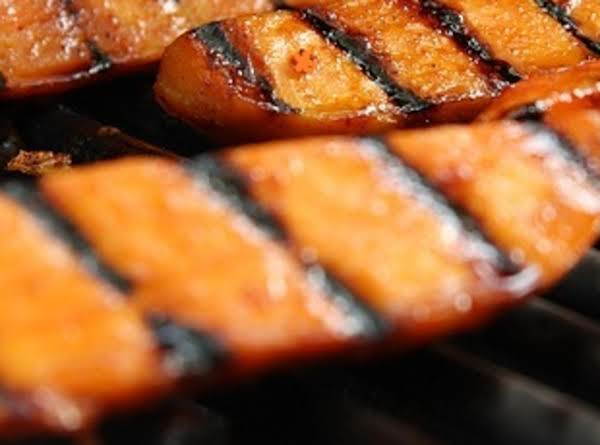 Grilled Sweet Potato Slices Recipe
