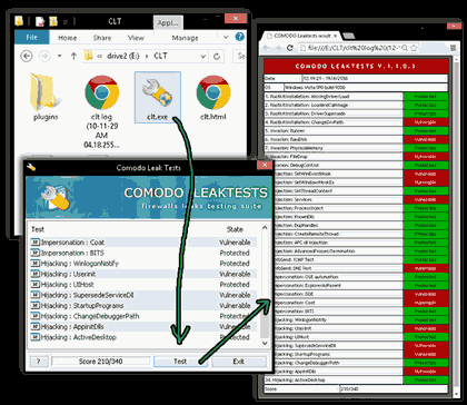 Download and test Comodo HIPS and Firewall Leak Test Suite