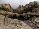 L'amphithéâtre rocheux du ruisseau d'U Candelli (photo Olivier Hespel)