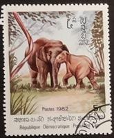 timbre Laos 001