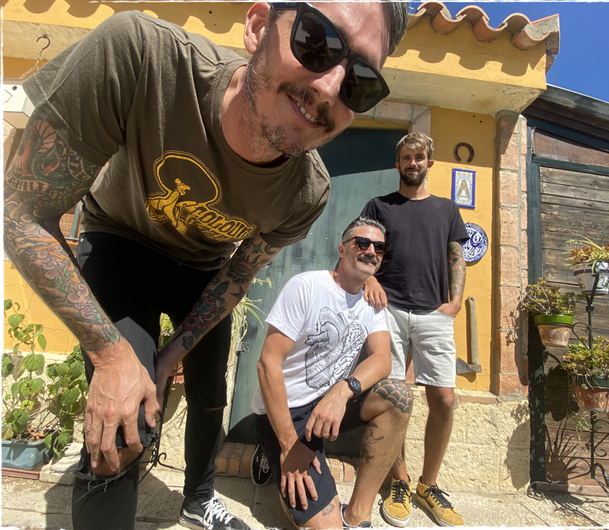 THE MEXICAN SUGAR SKULLS banda
