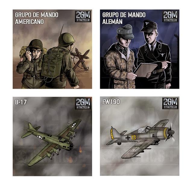 Grupos de mando 2GM Tactics