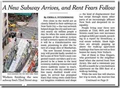 subway comes