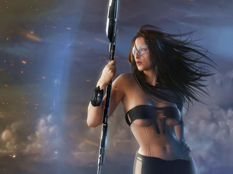 Cosmic Warrior, Warriors