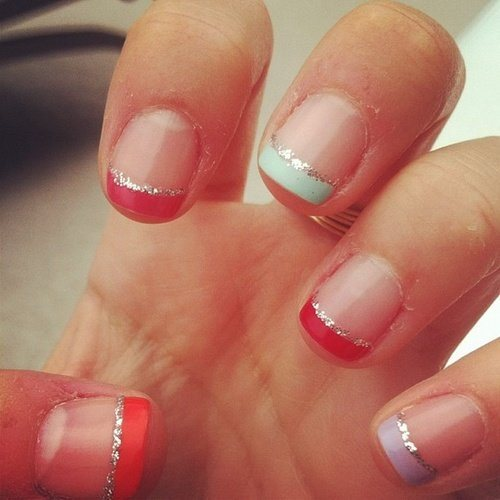 Fantastic French Manicure Ideas Trends 2015