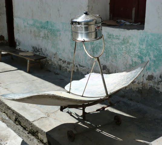 chauffe nourriture solaire