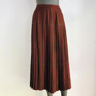 Guy Laroche Vintage Pleated Skirt