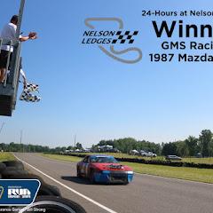 ChampCar 24-hours at Nelson Ledges - Finish - winner