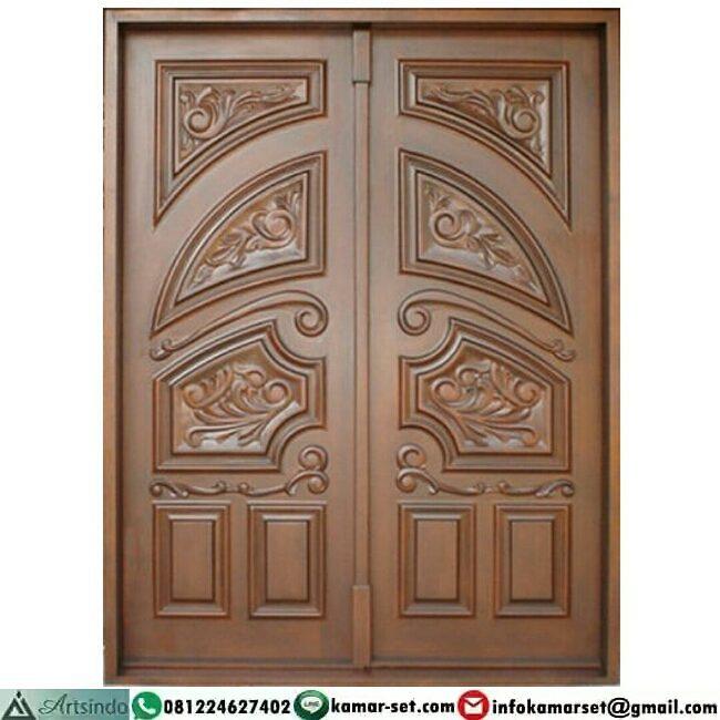 Model pintu ukiran minimalis cantik
