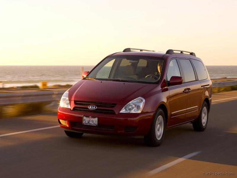 2007 kia sedona minivan specifications pictures prices. Black Bedroom Furniture Sets. Home Design Ideas