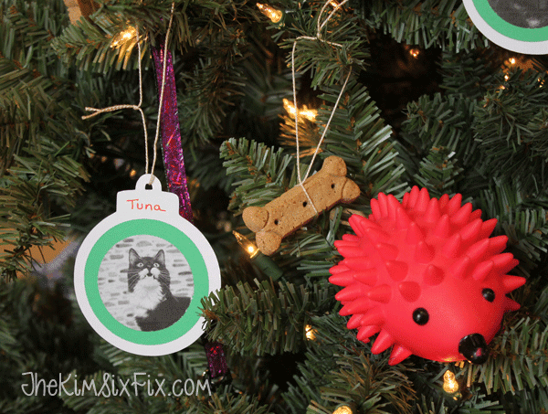 Animal shelter christmas tree ornaments