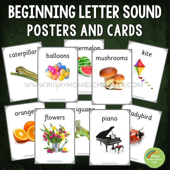 Beginning Letter Sound Posters and Cards