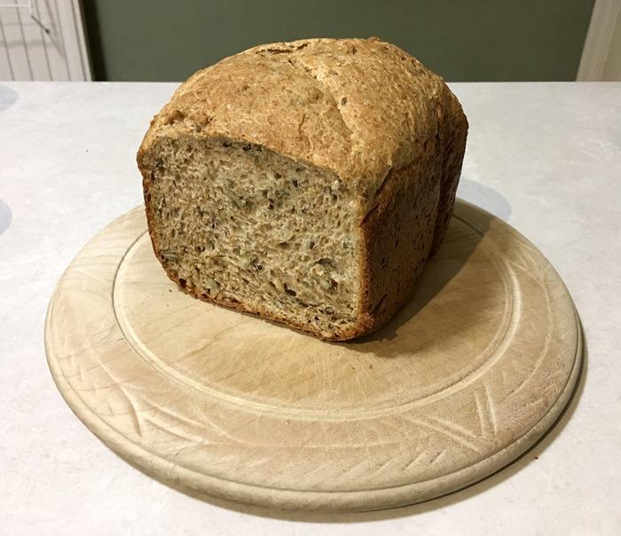 Seedy Bread from Bread Maker 18-12-18