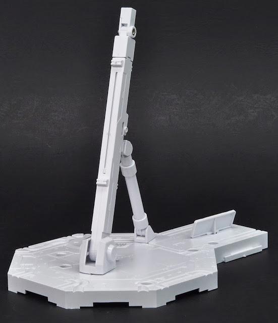 Giá đỡ mô hình Gundam hình lục giác Action Base 1 màu trắng điều khiển linh hoạt