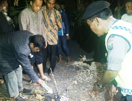 Berita foto video sinar ngawi terbaru: Inilah penyebab terbakarnya bapak satu anak ini hingga tewas