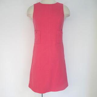 Chanel Pink Sheath Dress